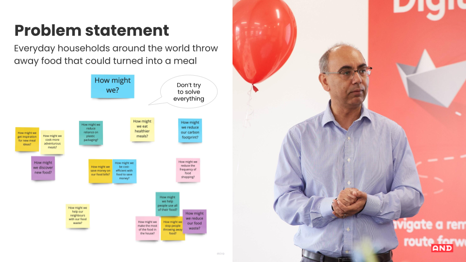 Problem statement example - AND Digital at Digital Leap