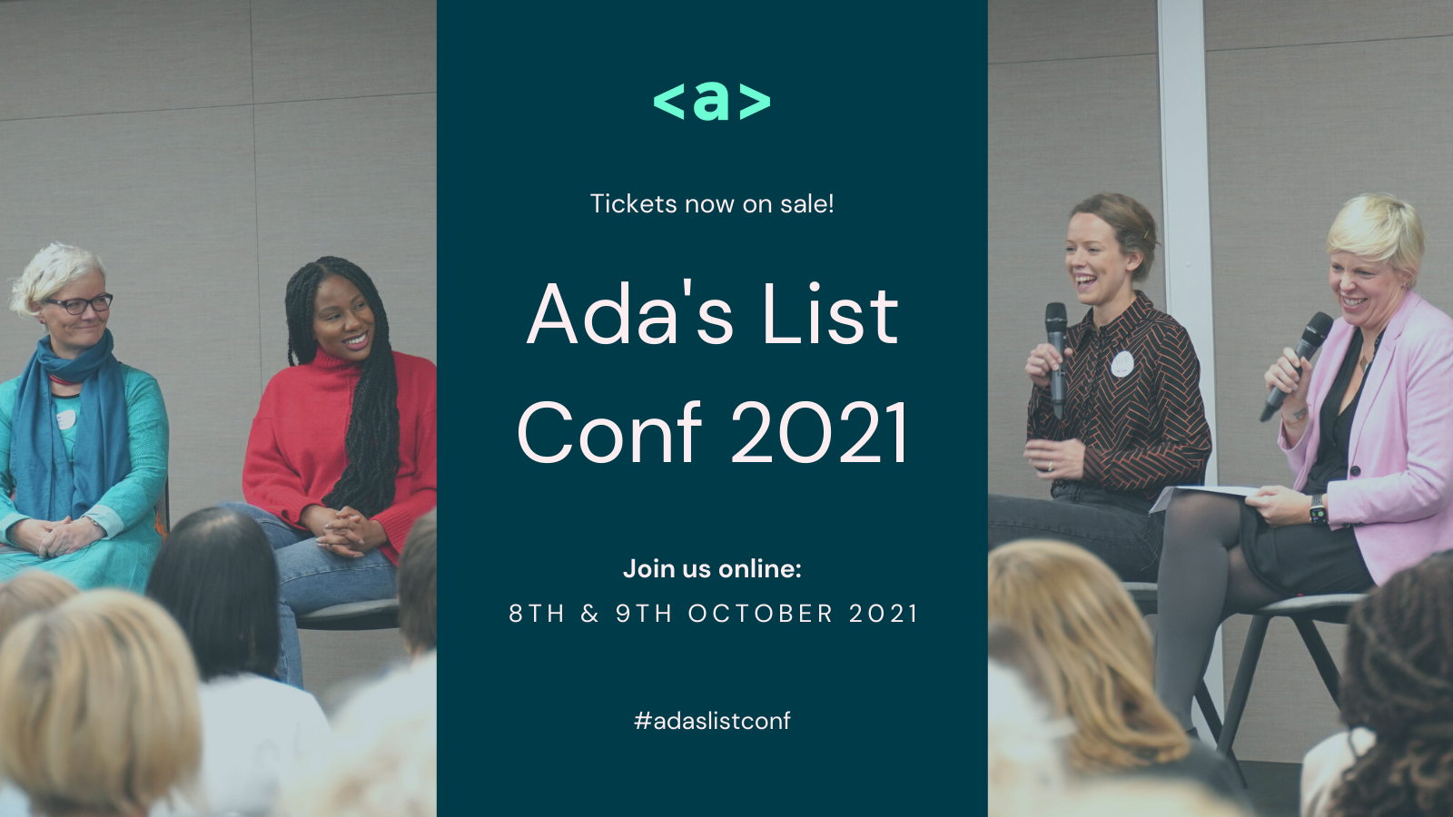 AND is sponsoring Ada's List Conf 2021