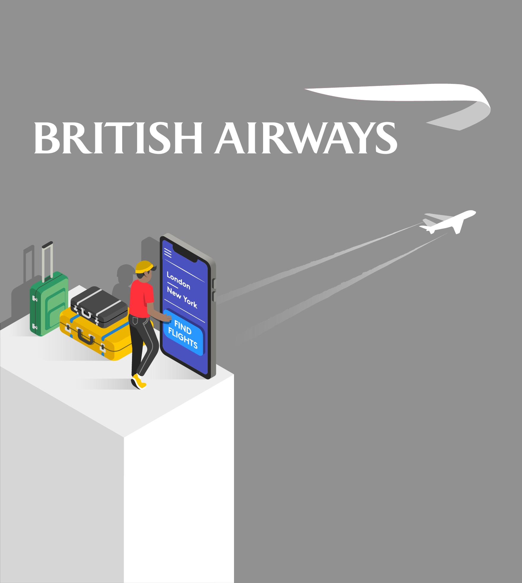 British Airways illustration