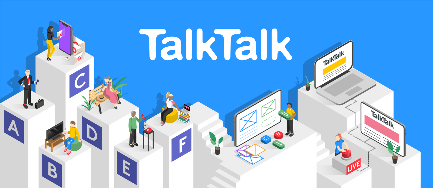 How a bespoke, responsive web app increased conversions for TalkTalk.