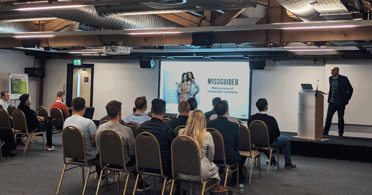 Working towards composable commerce with Missguided [Event]